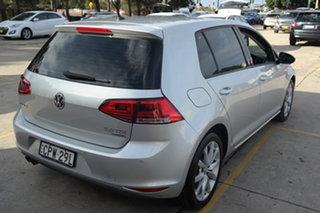 2013 Volkswagen Golf VII 110TDI DSG Highline Silver 6 Speed Sports Automatic Dual Clutch Hatchback