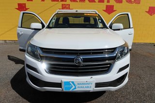 2016 Holden Colorado RG MY16 DX White 6 Speed Manual Cab Chassis.