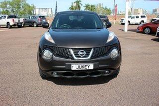 2013 Nissan Juke F15 MY14 ST 2WD Mercury Grey 5 Speed Manual Wagon.
