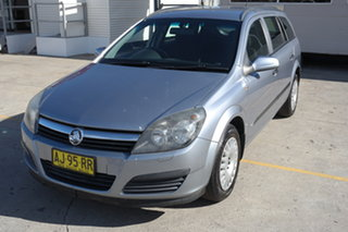 2006 Holden Astra AH MY06 CD Silver 5 Speed Manual Wagon.