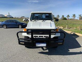 1998 Toyota Landcruiser HZJ75RP (4x4) White 5 Speed Manual 4x4 Cab Chassis.