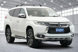 2017 Mitsubishi Pajero Sport QE MY17 GLX White 8 Speed Sports Automatic Wagon.