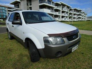 2006 Ford Territory SY TX (RWD) White 4 Speed Auto Seq Sportshift Wagon.
