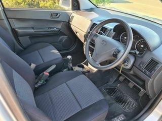 2010 Hyundai Getz TB MY09 S Silver 5 Speed Manual Hatchback