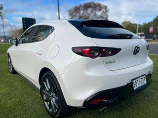 2020 Mazda 3 BP2HLA G25 SKYACTIV-Drive Evolve Snowflake White 6 Speed Sports Automatic Hatchback