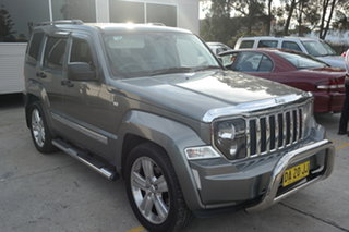 2012 Jeep Cherokee KK MY12 Limited Grey 4 Speed Automatic Wagon.
