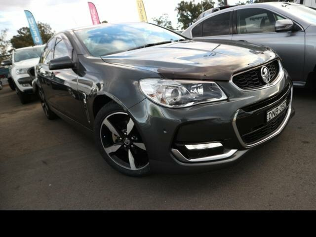 Used Holden Commodore VF II MY17 SV6 Kingswood, 2017 Holden Commodore VF II MY17 SV6 Grey 6 Speed Automatic Sedan
