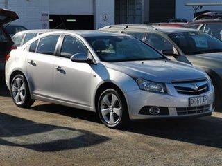 2011 Holden Cruze JG CDX Silver 6 Speed Sports Automatic Sedan.