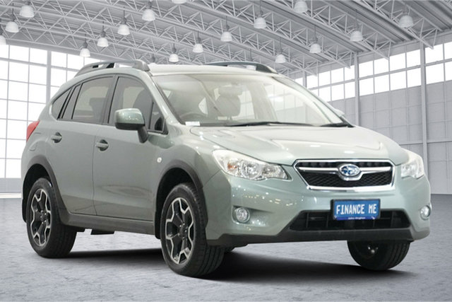 Used Subaru XV G4X MY14 2.0i Lineartronic AWD Victoria Park, 2015 Subaru XV G4X MY14 2.0i Lineartronic AWD Jasmine Green 6 Speed Constant Variable Wagon