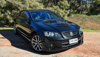 2011 Holden Commodore VE II SS V Black 6 Speed Manual Sedan.