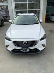 2015 Mazda CX-3 DK2W7A Akari SKYACTIV-Drive White 6 Speed Sports Automatic Wagon.