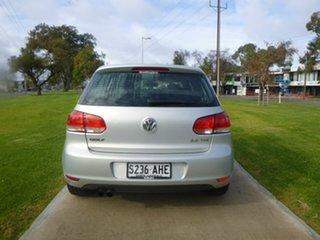 2010 Volkswagen Golf VI 103TDI Comfortline White Sports Automatic Dual Clutch Hatchback