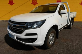 2016 Holden Colorado RG MY16 DX White 6 Speed Manual Cab Chassis