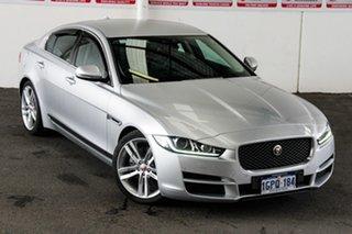 2015 Jaguar XE Prestige Silver 8 Speed Automatic Sedan.