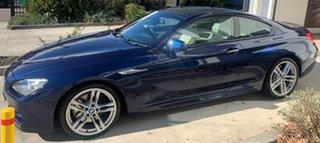 2013 BMW 6 Series F13 MY1112 650i Steptronic Deep Sea Blue 8 Speed Sports Automatic Coupe