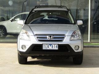 2004 Honda CR-V RD MY2005 Sport 4WD Silver 5 Speed Automatic Wagon.