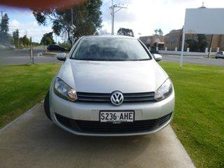 2010 Volkswagen Golf VI 103TDI Comfortline White Sports Automatic Dual Clutch Hatchback.