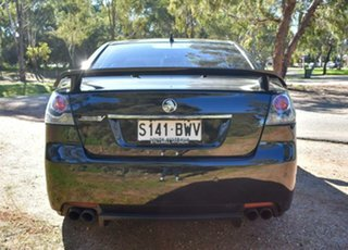 2011 Holden Commodore VE II SS V Black 6 Speed Manual Sedan