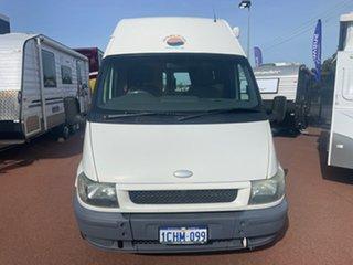 2004 Ford Transit White Campervan.