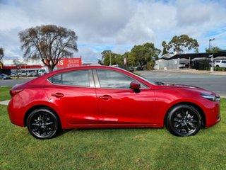 2016 Mazda 3 BN5278 Touring SKYACTIV-Drive Soul Red 6 Speed Sports Automatic Sedan.