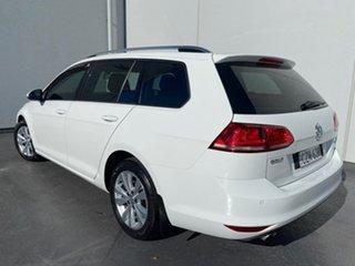 2015 Volkswagen Golf VII MY15 90TSI DSG Comfortline White 7 Speed Sports Automatic Dual Clutch Wagon