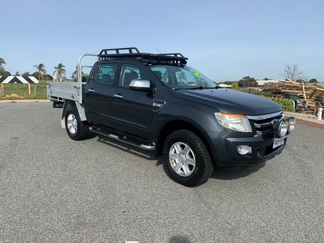 Used Ford Ranger PX XLT 3.2 (4x4) Wangara, 2012 Ford Ranger PX XLT 3.2 (4x4) Grey 6 Speed Automatic Double Cab Pick Up