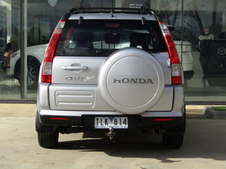 2004 Honda CR-V RD MY2005 Sport 4WD Silver 5 Speed Automatic Wagon