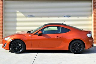 2012 Toyota 86 ZN6 GT Orange 6 Speed Manual Coupe