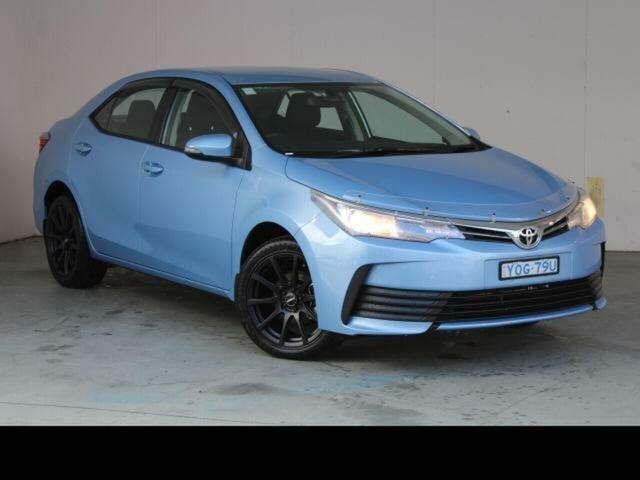Used Toyota Corolla Fyshwick, 2019 Toyota Corolla Blue Mist Sedan