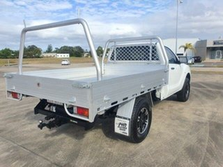 2013 Mazda BT-50 UP0YD1 XT 4x2 Hi-Rider Cool White 6 Speed Sports Automatic Cab Chassis.