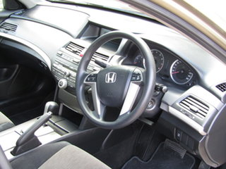 2008 Honda Accord 8th Gen VTi Ash Gold 5 Speed Sports Automatic Sedan