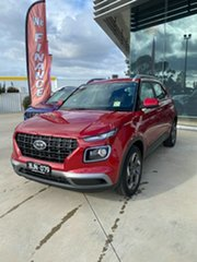 2020 Hyundai Venue QX.2 MY20 Active Fiery Red 6 Speed Automatic Wagon.