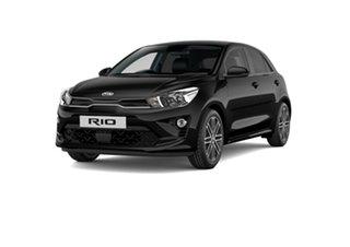 2021 Kia Rio YB MY21 SX Aurora Black 6 Speed Automatic Hatchback