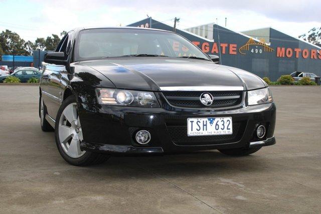 Used Holden Calais VZ West Footscray, 2005 Holden Calais VZ Black 4 Speed Automatic Sedan