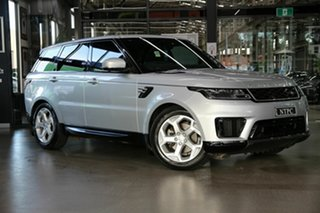 2019 Land Rover Range Rover Sport L494 19.5MY HSE Silver 8 Speed Sports Automatic Wagon.