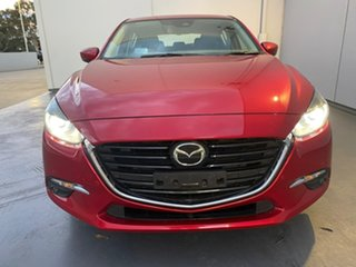 2016 Mazda 3 BN5436 SP25 SKYACTIV-MT Astina Red 6 Speed Manual Hatchback.