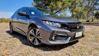 2020 Honda Civic 10th Gen MY20 VTi-L Modern Steel 1 Speed Constant Variable Hatchback.