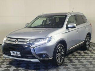 2016 Mitsubishi Outlander ZK MY16 Exceed 4WD Cool Silver 6 Speed Sports Automatic Wagon
