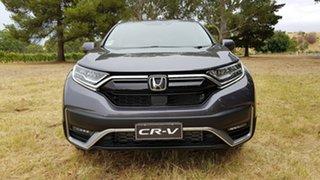 2020 Honda CR-V RW MY21 VTi FWD L7 Modern Steel 1 Speed Constant Variable Wagon.