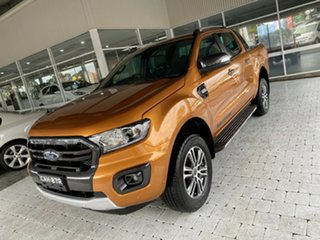 2020 Ford Ranger Wildtrak Orange Sports Automatic Double Cab Pick Up.