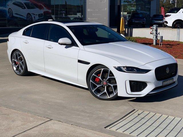 Used Jaguar XE X760 MY20 R-Dynamic HSE West Gosford, 2019 Jaguar XE X760 MY20 R-Dynamic HSE White 8 Speed Sports Automatic Sedan