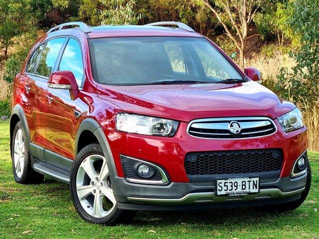 Used Holden Captiva CG MY15 7 AWD LTZ Morphett Vale, 2015 Holden Captiva CG MY15 7 AWD LTZ Maroon 6 Speed Sports Automatic Wagon