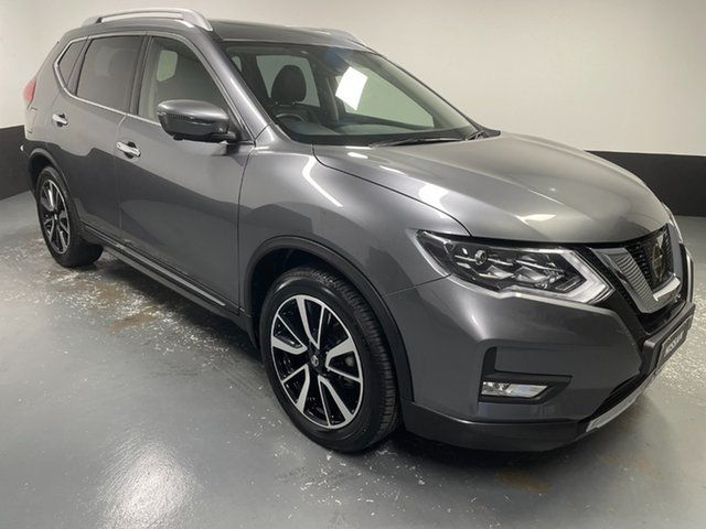 Used Nissan X-Trail T32 Series II Ti X-tronic 4WD Hamilton, 2020 Nissan X-Trail T32 Series II Ti X-tronic 4WD Grey 7 Speed Constant Variable Wagon