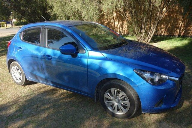 Used Mazda 2 DJ2HAA Neo SKYACTIV-Drive East Maitland, 2015 Mazda 2 DJ2HAA Neo SKYACTIV-Drive Blue 6 Speed Sports Automatic Hatchback