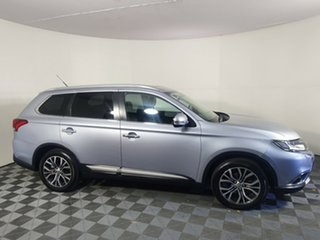 2016 Mitsubishi Outlander ZK MY16 Exceed 4WD Cool Silver 6 Speed Sports Automatic Wagon.