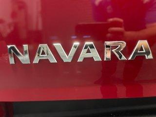 2018 Nissan Navara D23 S3 ST Burning Red 6 Speed Manual Utility