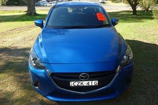 2015 Mazda 2 DJ2HAA Neo SKYACTIV-Drive Blue 6 Speed Sports Automatic Hatchback.
