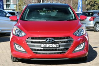 2015 Hyundai i30 GD4 Series 2 SR Red 6 Speed Automatic Hatchback