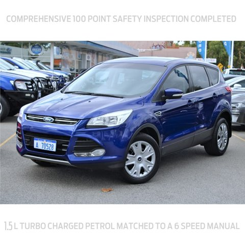 Used Ford Kuga TF MY15 Ambiente 2WD Midland, 2014 Ford Kuga TF MY15 Ambiente 2WD Blue 6 Speed Manual Wagon