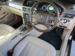 2010 Mercedes-Benz E-Class W212 E250 CGI Elegance Brown 5 Speed Sports Automatic Sedan